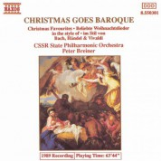 Peter Breiner, Kosice Slovak State Philharmonic Orchestra: Christmas Goes Baroque 1 - CD