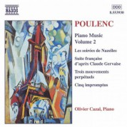 Poulenc: Piano Music, Vol.  2 - CD