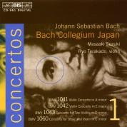 Bach Collegium Japan, Masaaki Suzuki: J.S. Bach: Concertos, Vol.1 (BWV 1041, 1042, 1043, 1060) - CD
