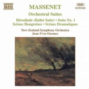 Massenet: Orchestral Suites Nos. 1- 3 / Herodiade - CD