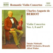 Takako Nishizaki: Beriot: Violin Concertos Nos. 1, 8 and 9 - CD