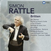 Ian Bostridge, Peter Donohoe, Jill Gomez, Thomas Allen, Elisabeth Söderström, City of Birmingham Symphony Orchestra, Berliner Philharmoniker, Sir Simon Rattle: Simon Rattle - Britten - CD