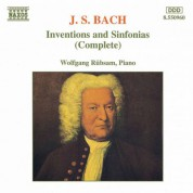 BACH, J.S.: Inventions and Sinfonias, BWV 772-801 - CD