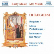 Ockeghem: Requiem / Missa Prolationum - CD