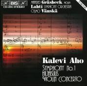 Manfred Gräsbeck, Lahti Symphony Orchestra, Osmo Vänskä: Aho: Symphony No.1 - CD