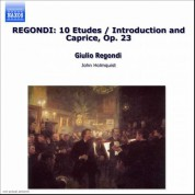 Regondi: 10 Etudes / Introduction and Caprice, Op. 23 - CD
