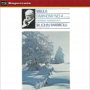 John Barbirolli, Halle Orchestra: Sibelius: Symphony No. 4 - Plak