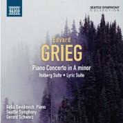 Bella Davidovich, Gerard Schwarz: Grieg: Piano Concerto - Holberg Suite - Lyric Suite - CD
