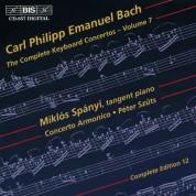 Miklós Spányi, Concerto Armonico, Péter Szűts: C.P.E. Bach: Keyboard Concertos Vol. 7 - CD