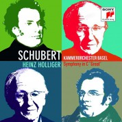 Kammerorchester Basel, Heinz Holliger: Schubert: Symphony No 8 C Major - CD
