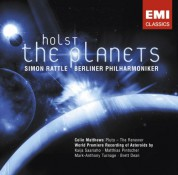 Berliner Philharmoniker, Sir Simon Rattle: Holst: The Planets - CD