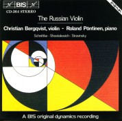 Christian Bergqvist, Roland Pöntinen: The Russian Violin - CD