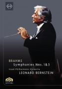 Israel Philharmonic Orchestra, Leonard Bernstein: Brahms: Symphonies Nos. 1&3 - DVD
