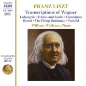 William Wolfram: Liszt: Transcriptions of Wagner - CD