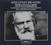 Rundfunkchor Leipzig, RSO Leipzig, Wolf-DieterHauschild: Johannes Brahms: Choral Works - Plak