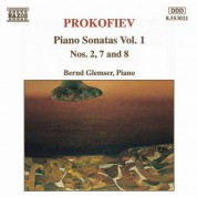 Bernd Glemser: Prokofiev, S.: Piano Sonatas Nos. 2, 7 and 8 - CD