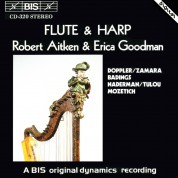 Robert Aitken, Erica Goodman: Flute and Harp (II) - CD