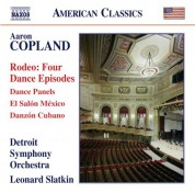 Detroit Symphony Orchestra, Leonard Slatkin: Copland: Rodeo - Dance Panels - El salón México - Danzón cubano - CD