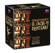 Çeşitli Sanatçılar: Stravinsky: Sacre Du Printemps 100th Anniversary Ed. - CD