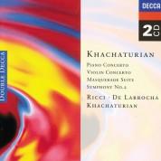 Alicia de Larrocha, Aram Il'yich Khachaturian, Ruggiero Ricci: Khachaturian: Piano Concerto No. 2 - CD