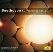 Berliner Philharmoniker, Herbert von Karajan: Beethoven: Symphonien 5+7 - CD