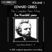 Eva Knardahl: Grieg - Complete Piano Music, Vol 1 - CD