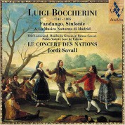 Le Concert des Nations, Jordi Savall: Luigi Boccherini - Fandango, Sinfonie & La Musica Notturna di Madrid - CD