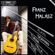 Franz Halász, Débora Halász: Franz Halász plays Spanish Guitar Music - CD