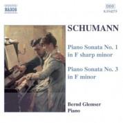 Schumann, R.: Piano Sonatas Nos. 1 and 3 - CD