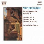 Mendelssohn: String Quartets Nos. 1 and 4 / Quartet in E-Flat Major - CD