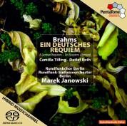Marek Janowski, Rundfunkchor Berlin, Rundfunk-Sinfonieorchester Berlin: Brahms: Ein Deutsches Requiem - SACD