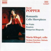 Popper: Romantic Cello Showpieces - CD