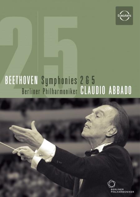 Berliner Philharmoniker, Claudio Abbado: Beethoven: Symphonies 2 & 5 - DVD