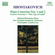 Shostakovich: Piano Concertos Nos. 1 and 2 - CD
