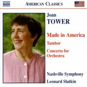 Leonard Slatkin: Tower: Made in America / Tambor / Concerto for Orchestra - CD