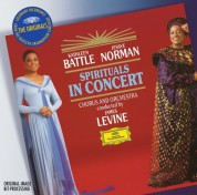 Kathleen Battle, Jessye Norman, Members of Metropolitan Opera Chorus, James Levine: Kathleen Battle, Jessye Norman - Spirituals In Concert - CD
