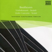 Takako Nishizaki: Beethoven: Violin Concerto / Sextet - CD