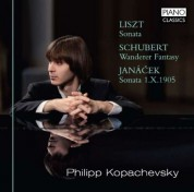 Philip Kopachevsky: Liszt, Schubert, Janacek: Sonata, Wanderer Fantasy, Sonata 1.X.1905 - CD