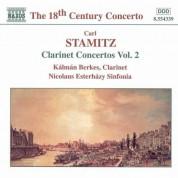 Stamitz, C.: Clarinet Concertos, Vol.  2 - CD