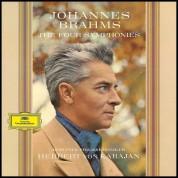 Herbert Von Karajan: Brahms: The Four Symphonies - Plak