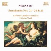 Mozart: Symphonies Nos. 21 - 24 and 26 - CD