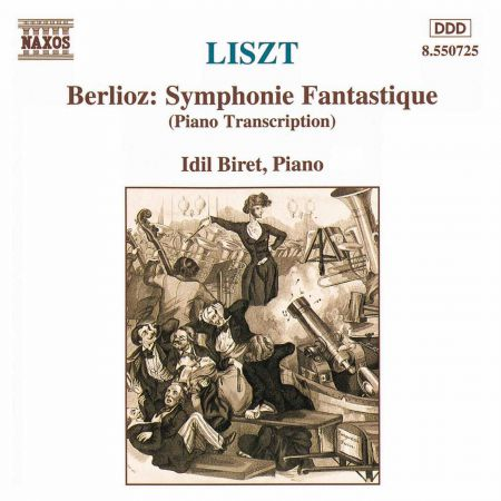 Liszt: Berlioz Symphonie Fantastique (Transcription) - CD