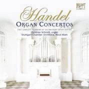 Christian Schmitt, Stuttgart Chamber Orchestra, Nicol Matt: Handel: Organ Concertos Complete - CD
