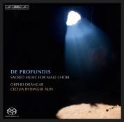 Orphei Drängar, Cecilia Rydinger Alin: De Profundis – Sacred Repertoire for Male Choir - SACD