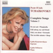 Tchaikovsky: Songs (Complete), Vol.  3 - CD