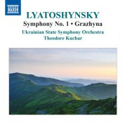 Theodore Kuchar, Ukrainian State Symphony Orchestra: Lyatoshynsky: Symphony No. 1 & Grazhyna - CD