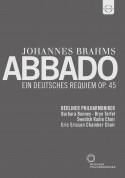 Berliner Philharmoniker, Claudio Abbado: Brahms: Ein Deutsches Requiem - DVD