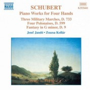 Jeno Jando, Zsuzsa Kollar: Schubert: Piano Works for Four Hands, Vol. 2 - CD