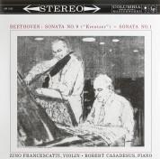 Zino Francescatti, Robert Casadesus: Beethoven: Sonata 9 (Kreutzer), Sonata 1 - Plak