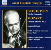 Beethoven / Mozart: Violin Concertos (Szigeti) (1932, 1934) - CD